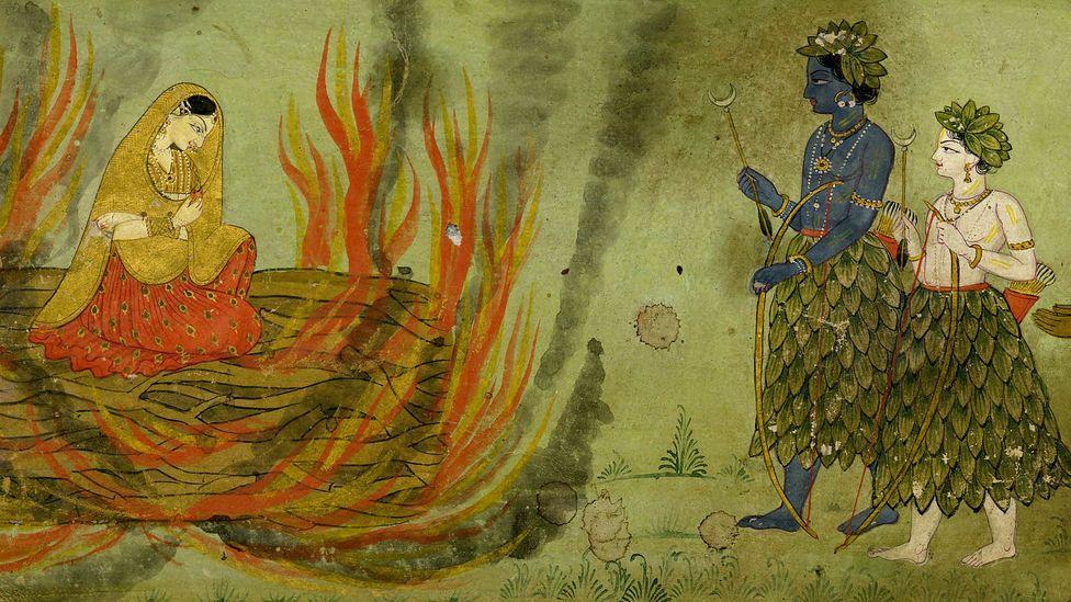 Indian myths (Credit: British Museum)