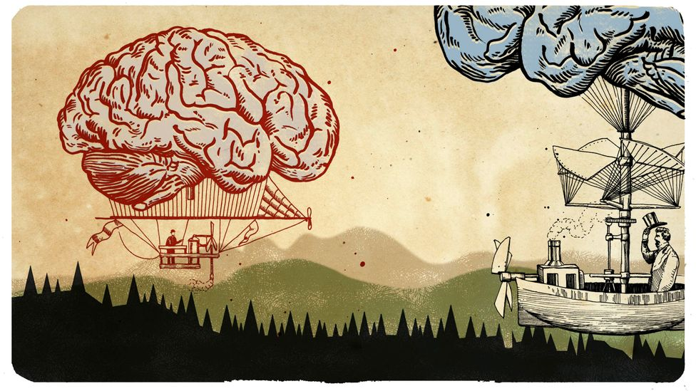 "Journalist Howard Timberlake went on a quest to understand what we mean by a ""normal"" brain (Credit: Emmanuel Lafont)"