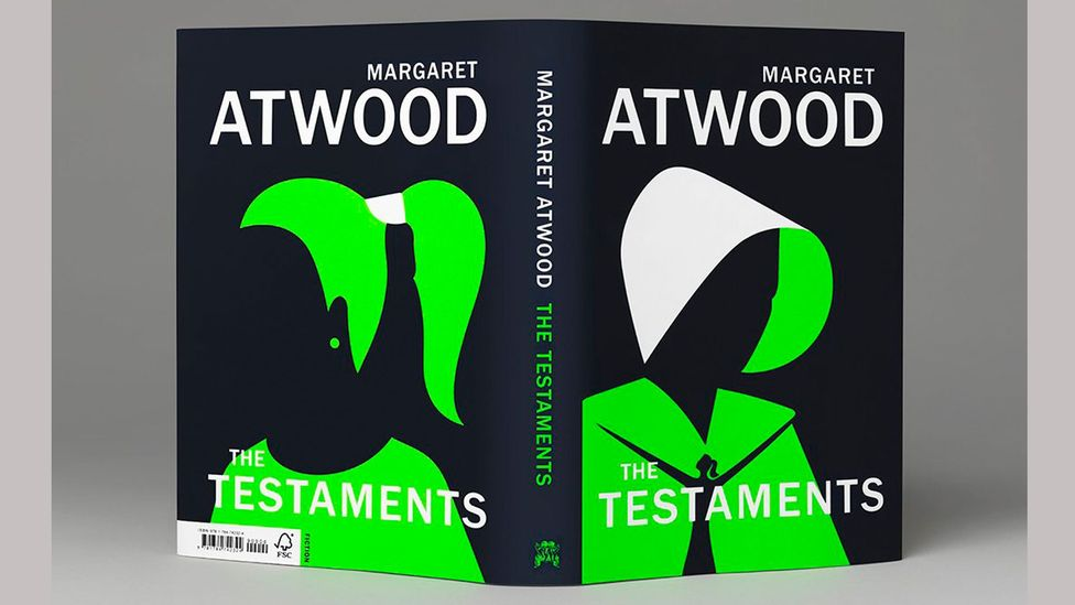The Testaments' cover shows images of servitude and, on the back, freedom (Credit: Penguin/ Random House)