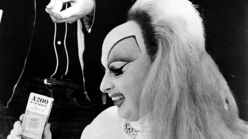 John Waters' Pink Flamingos, starring drag star Divine, was the defining film of the Cinema of Transgression movement (Credit: Alamy)
