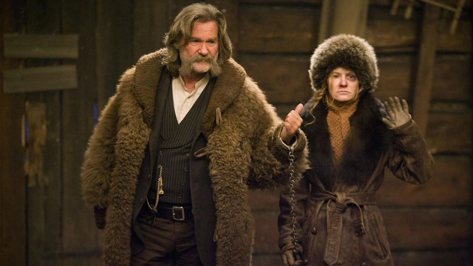 Quentin Tarantino's films, such as The Hateful Eight, have been attacked for their  use of the N-word and violence against women (Credit: Alamy)
