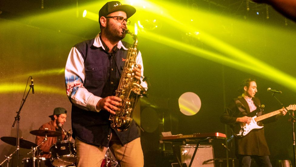 TootArd were one of the acts who played at this year's Palestine Music Expo, which has become a way for Palestinian musicians to connect with the industry (Credit: David Corio)
