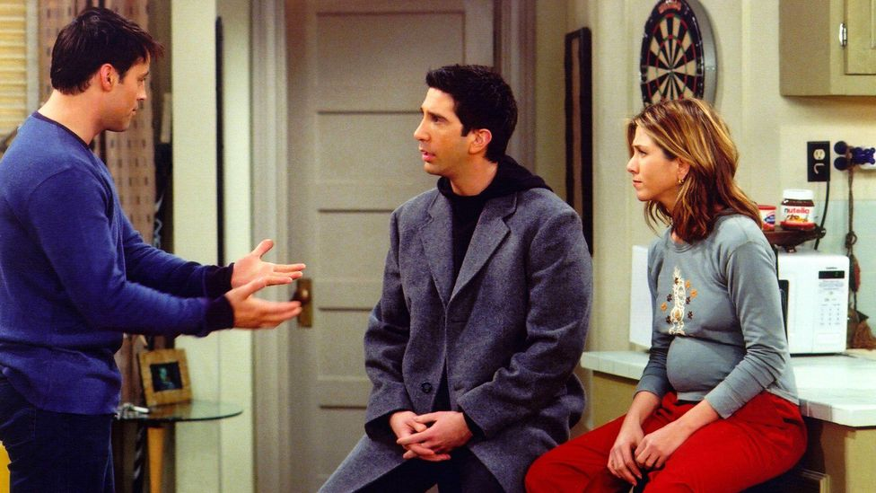 Rachel and Ross's on-off relationship is a core part of the series, with the pair temporarily going separate ways after having a daughter together (Credit: Alamy)