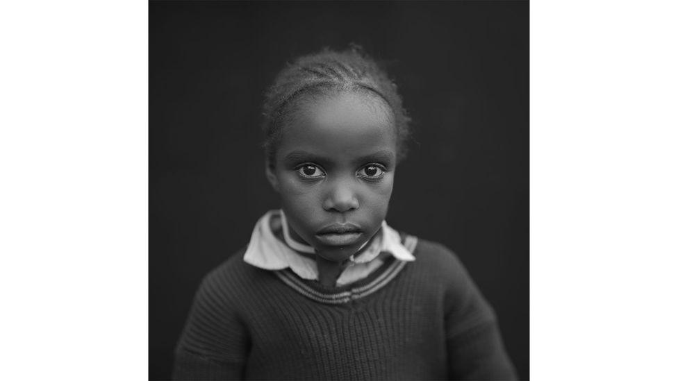 Ester Njeri: female, aged 7, Kikuyu community (Credit: Tobin Jones Photography)