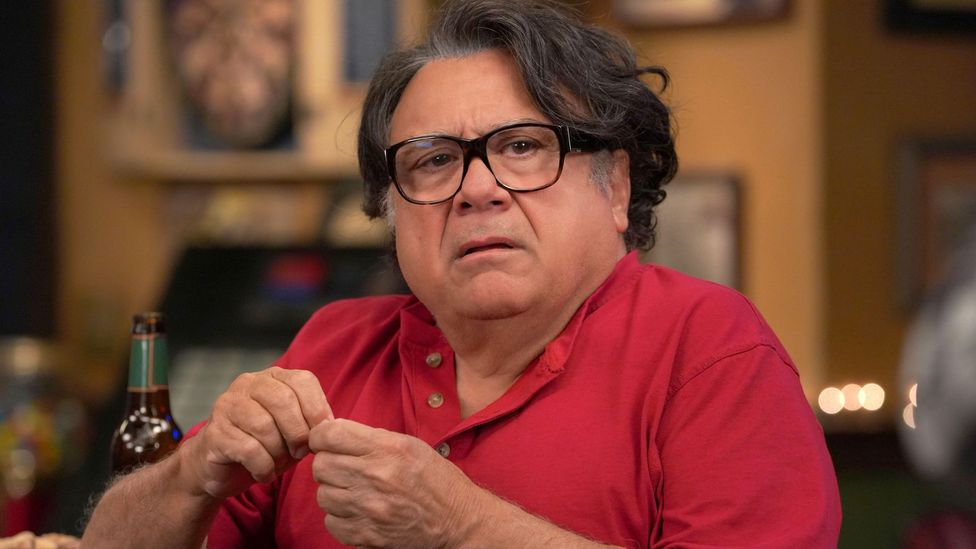 Playing rich absentee father Frank, Danny Devito was brought in to add star power to the second series – and has stayed ever since (Credit: Alamy)