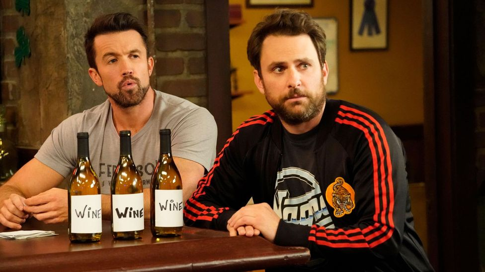 It's Always Sunny centres on a group of terrible friends who run Paddy's Pub together, including Mac (Rob McElhenney) and Charlie (Charlie Day) (Credit: Alamy)