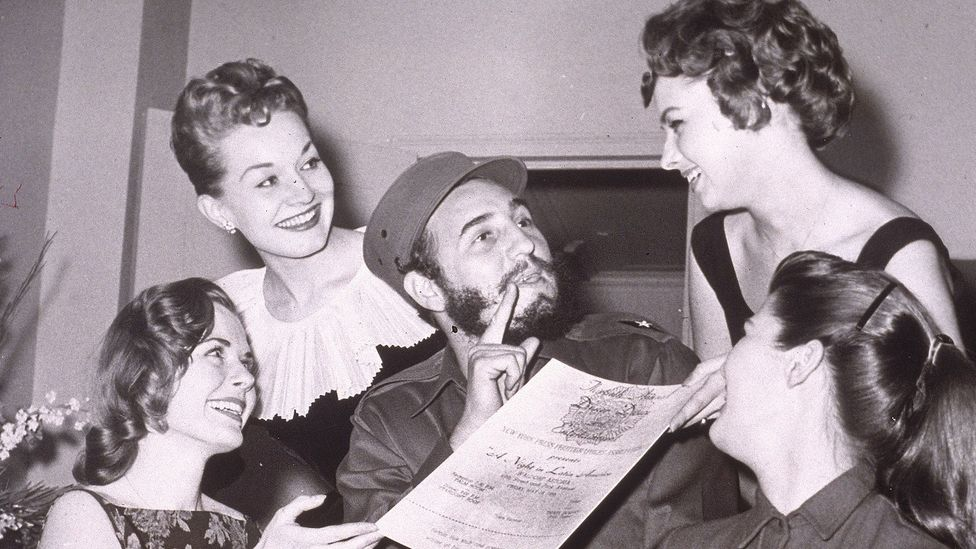 In 1959, Castro and his comrades were idolised by American women as young, sexy liberators (Credit: Hulton/Archive Staff/Getty Images)