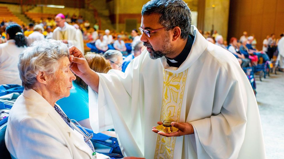 Formerly a priest in southern India, Fr Kochuveettil now ministers to Catholics in the Shannon Parish, in south-west Ireland (Credit: Father Francis Xavier Kochuveettil)
