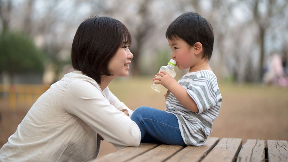 For child development, back-and-forth conversation – not merely passive hearing – is what matters most (Credit: Getty Images)
