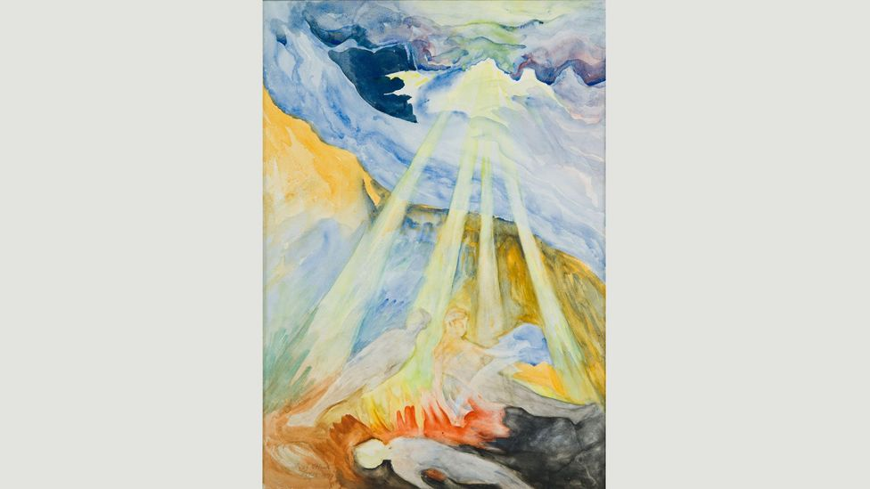 Untitled, 1934, by Hilma af Klint (Credit: The Gallery of Everything)