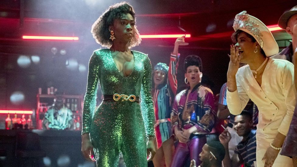 New York's 1980s drag-ball scene, from which Drag Race borrows the ideology of 'throwing shade', is also the subject of current TV drama Pose (Credit: Alamy)