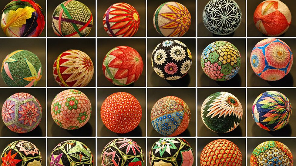 NanaAkua photographed hundreds of her grandmother's temari balls (credit: NanaAkua)