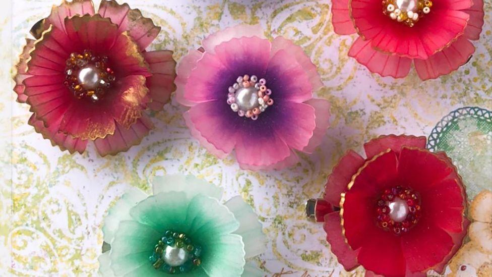 NanaAkua has written 11 books on shrink-plastic crafting (credit: NanaAkua)