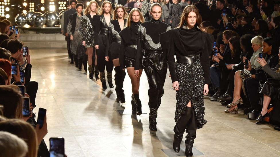 'France has a great cultural heritage,' says Isabel Marant – pictured, her autumn/winter 2019-2020 show (Credit: Getty Images)