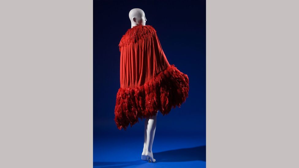 A 1927 Chanel evening cape is among the exhibits at the exhibition, Paris, Capital of Fashion (Credit: The Museum at FIT)
