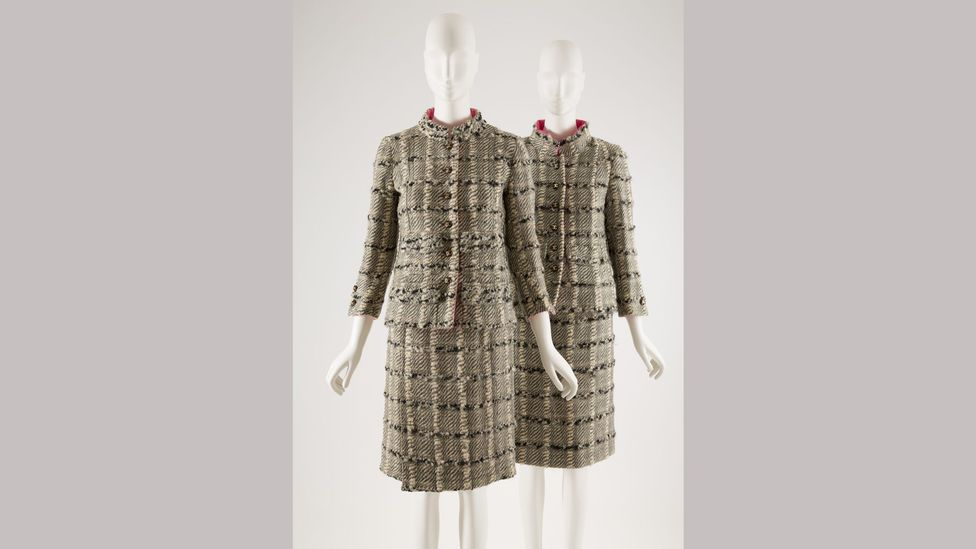 A classically chic tweed suit, designed by Gabrielle 'Coco' Chanel (Credit: The Museum at FIT)