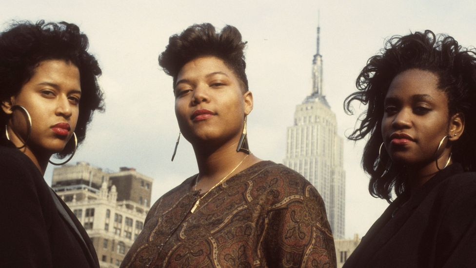Queen Latifah is one of only two female rappers that appeared in BBC Music's greatest hip-hop song of all time poll (Credit: Getty Images)