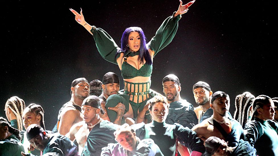 Cardi B has risen to become the first female rapper in almost 20 years to reach number 1 on the US Billboard chart (Credit: Getty Images)
