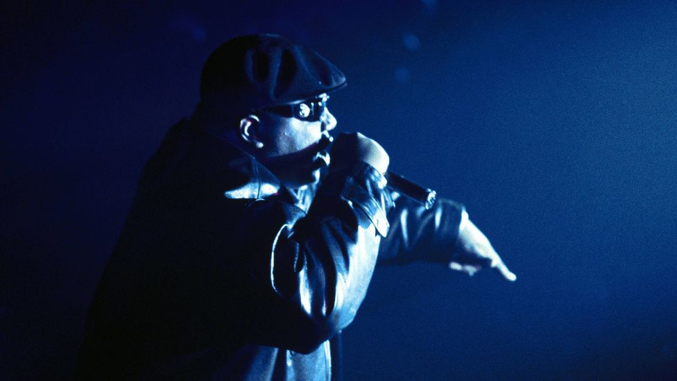 The Notorious B.I.G.'s Juicy encapsulates all that is hip-hop optimism, the rags-to-riches ethos (Credit: Getty Images)