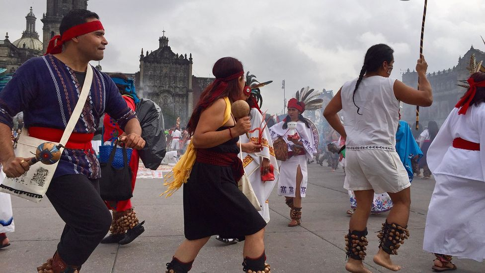 Nearly 700 years later, some Mexicans still celebrate the founding of the ancient Mexica capital, Tenochtitlán (Credit: Susannah Rigg)