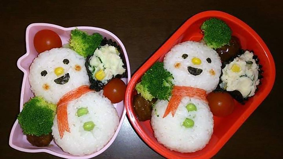 """Miki Okamura describes the duty of making lunch boxes as """"the most important job as a mother"""" (Credit: Miki Okamura)"""