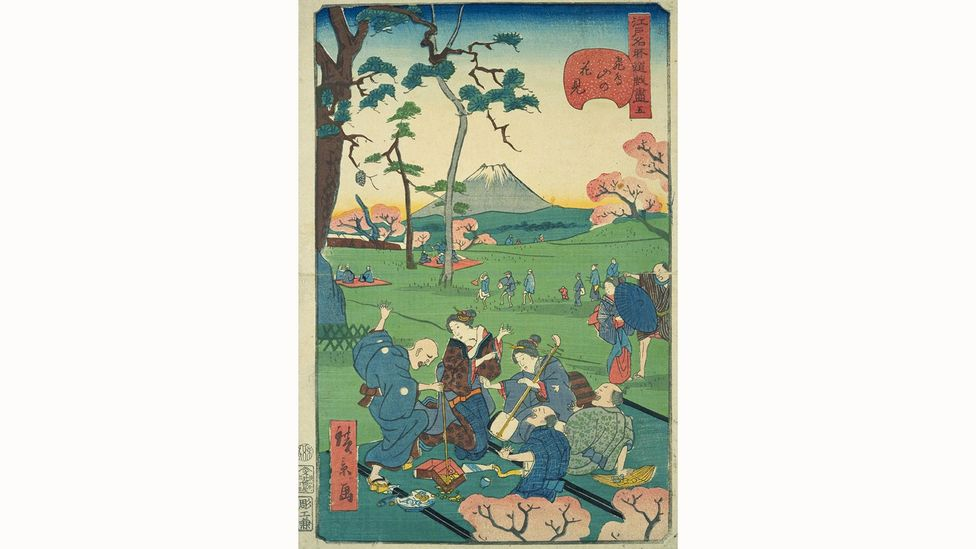 During the Edo Period from around 1600 to 1830, people would bring bento to the theatre and other outings (Credit: Alamy)