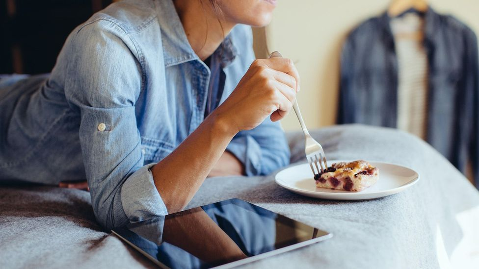 A bit of cake can derail a diet if you treat it as a catastrophe – cutting yourself some slack might help more in the long run (Credit: Alamy)
