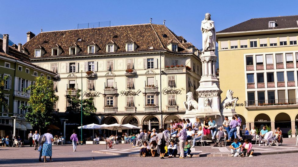 In 2018 Italy's birth rate hit a new record low, but the province of Bolzano is the exception: it has a birth rate of 1.67 – higher than the EU average of 1.60 (Credit: Alamy)