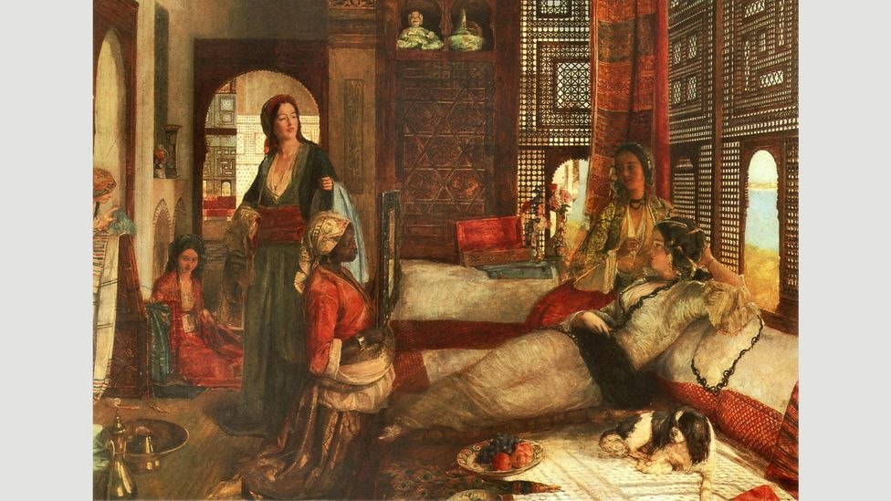 Artists such as Delacroix, Gerome and John Frederick Lewis brought images of the Arabic speaking world to the western cultural imagination (Credit: Alamy)