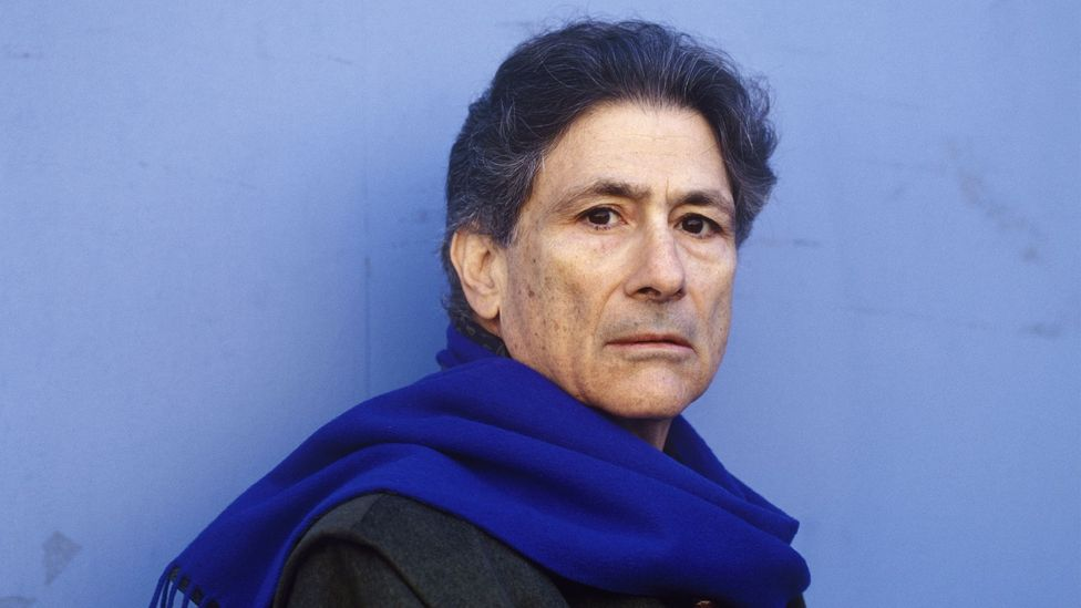 Palestinian-American academic Edward Said's 1978 work Orientalism brought the term into public scholarship (Credit: Getty Images)