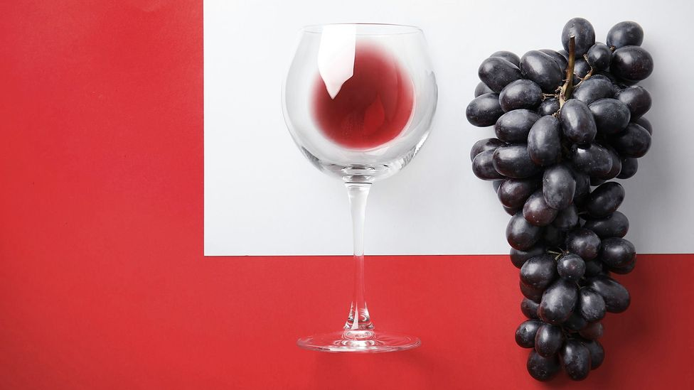 Most research on wine and health has focused on resveratrol, an antioxidant found in grapes (Credit: Getty Images)