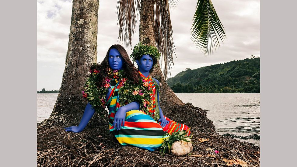 Namsa Leuba wanted to reframe images of Polynesian women in art