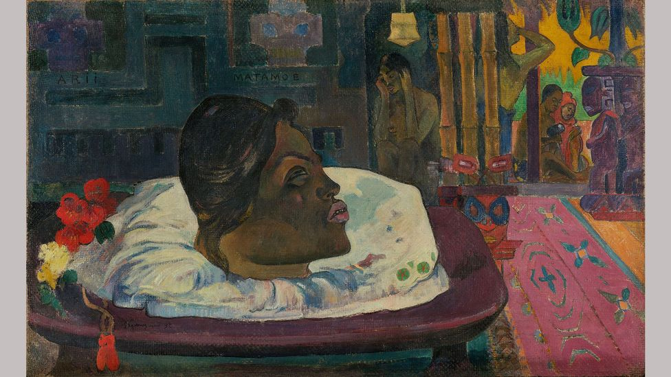 The Royal End by Paul Gauguin (1892) – Gauguin's paintings have a very male, very colonial gaze