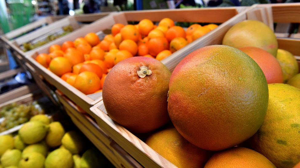 Citrus was yet another common finding in richer people's waste (Credit: Getty Images)