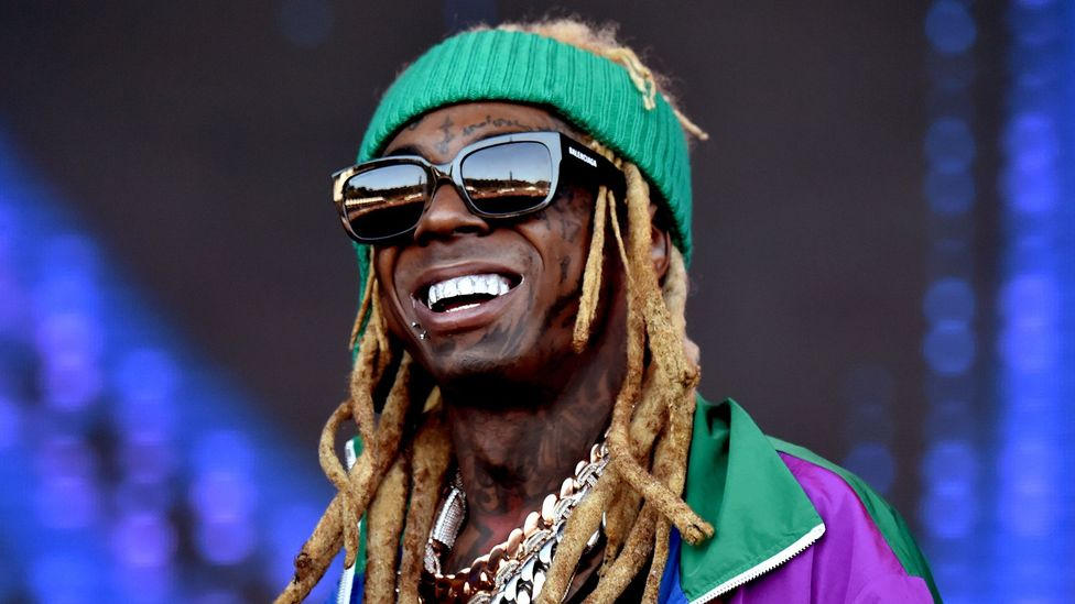 Young Thug's rapping style owes much to his predecessor Lil' Wayne (Credit: Getty Images)