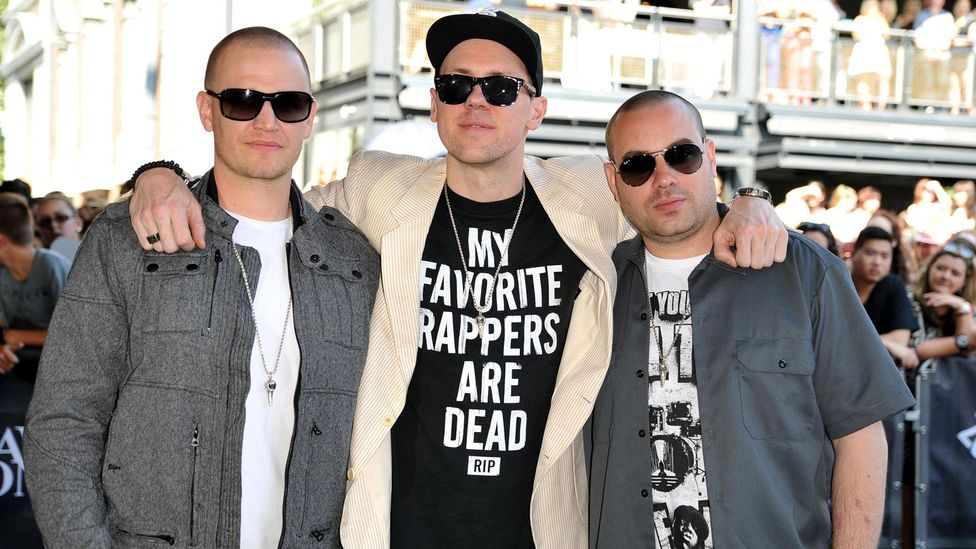 Australian hip-hop acts such as Hilltop Hoods eschewed politics for good-time vibes (Credit: Alamy)