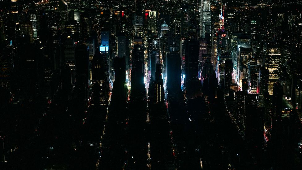Manhattan during power cut