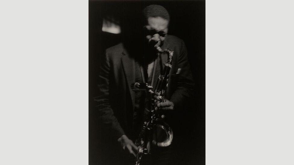 Coltrane #24, 1961 (Credit: Estate of Roy DeCarava. Courtesy David Zwirner)
