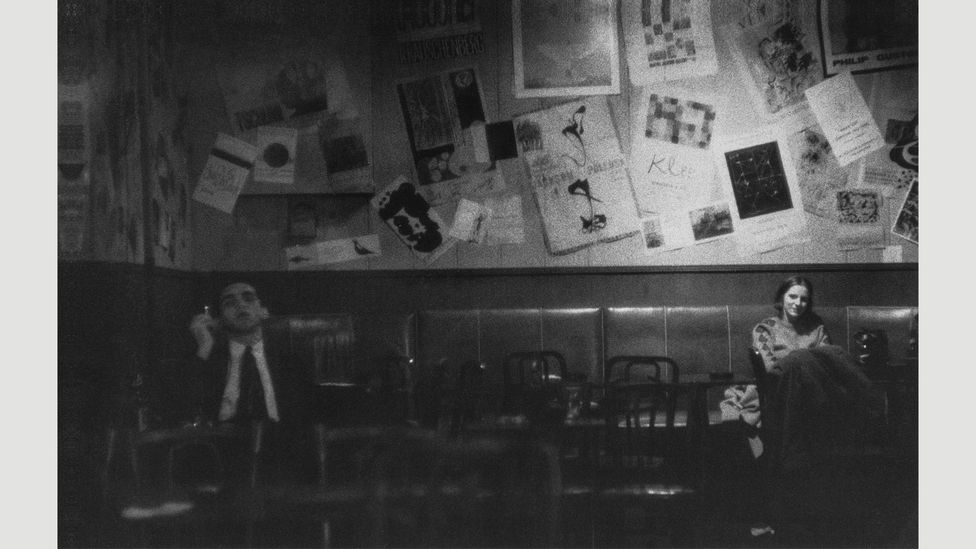 Club audience at intermission, The Five Spot, 1960 (Credit: Estate of Roy DeCarava. Courtesy David Zwirner)