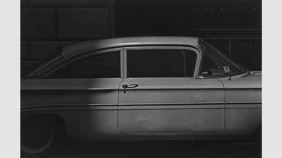 White car and dots, 1961 (Credit: Estate of Roy DeCarava. Courtesy David Zwirner)