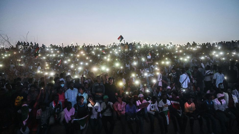 Sudan is one African country where access to the internet was cut off during protests in April 2019 (Credit: Getty Images)