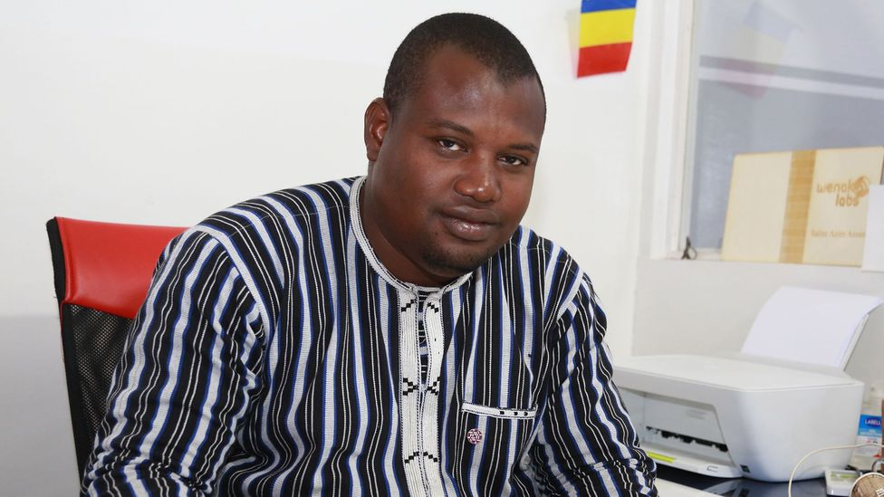 Salim Azim Assani was one businessman affected by a 16-month-long block of social media in Chad (Credit: Matene Israel/WenakLabs)