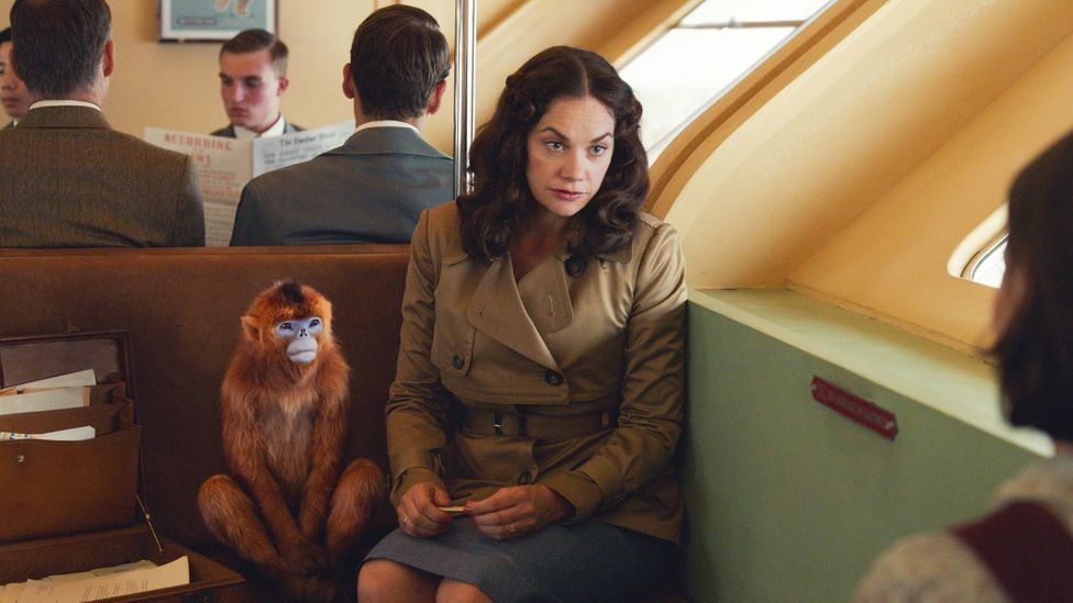 Ruth Wilson, as the mysterious Mrs Coulter, is among the all-star cast of the new His Dark Materials series (Credit: BBC/HBO)