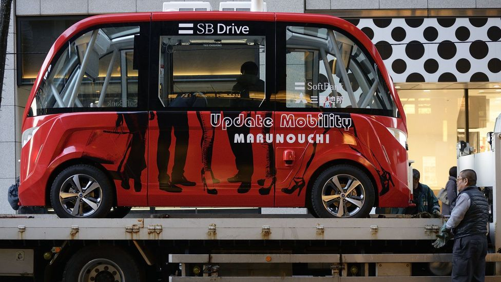 Japan has made it a priority to expedite the arrival of self-driving vehicles to its roads, which can assist the country's growing number of elderly drivers (Credit: Getty Images)