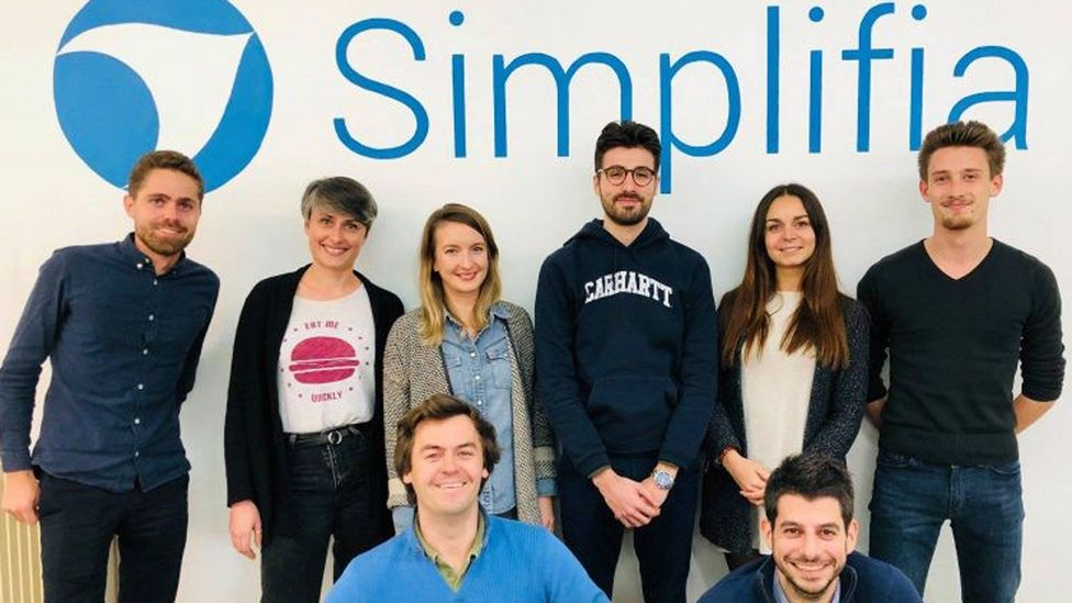 With an average team aged 30, Simplifia feel that their youth helps build trust with clients who want to try new things (Credit: Maxime Nory)
