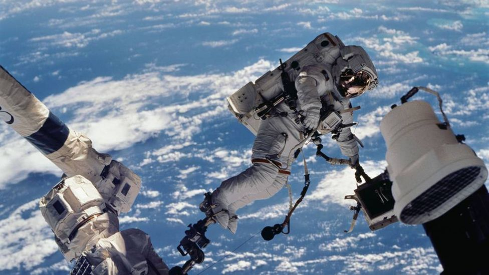 ISS astronauts are a perfect candidate group if you want to find people to travel to Mars (Credit: Nasa)