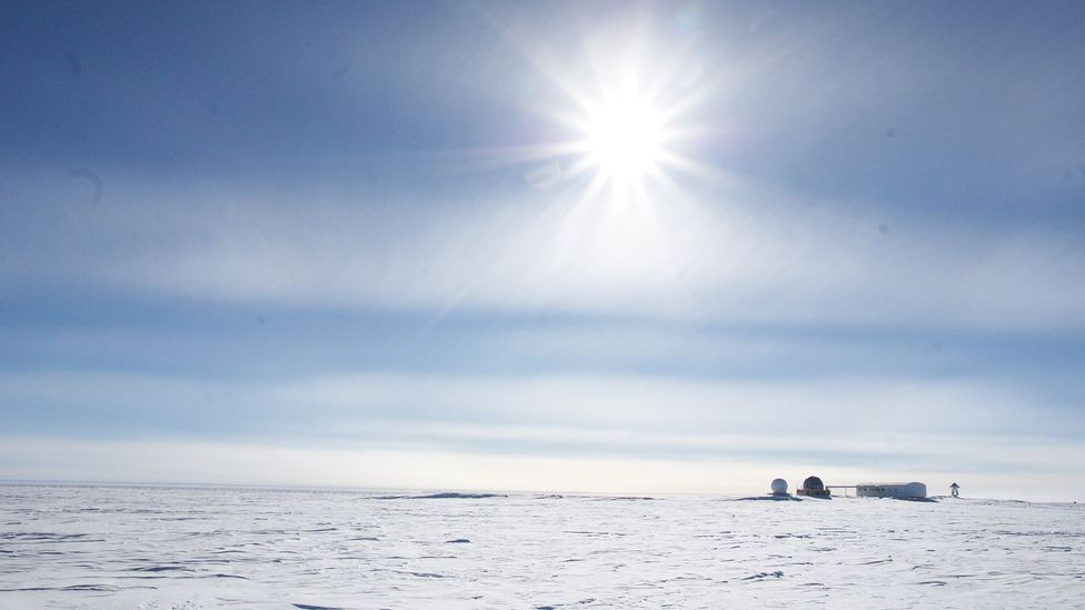 The isolation of polar settlements is a good stand-in for the isolation of long space voyages (Credit: Esa)