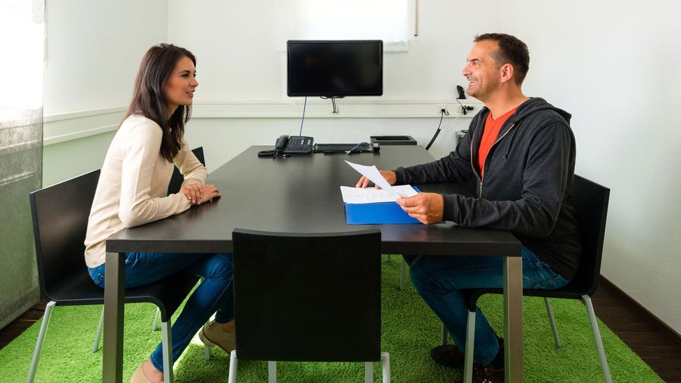 Personality tests are often used in interview settings, which, instead of being discriminatory, can actually be helpful tools for recruiters (Credit: Alamy)