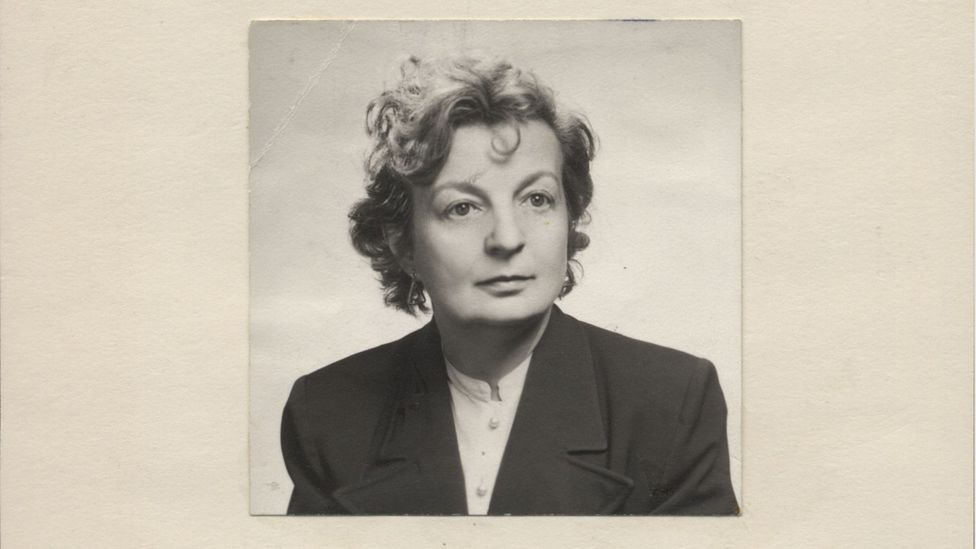 Hilda Geiringer, shown here during her time at Wheaton College in Massachusetts, was Germany's first female lecturer in applied mathematics (Credit: Wheaton College)