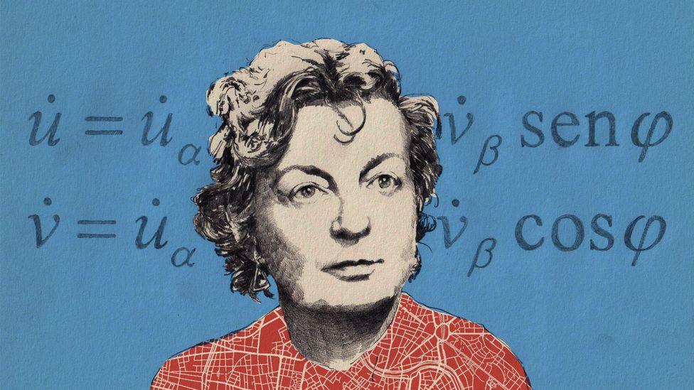 Hilda Geiringer (Credit: Emmanuel Lafont)